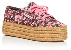 Superga x Mary Katrantzou Women's Platform Espadrille Sneakers