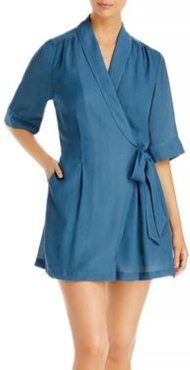 Halsey Shawl Collar Dress