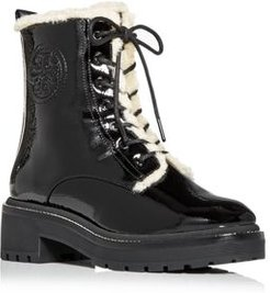 Miller Shearling Combat Boots