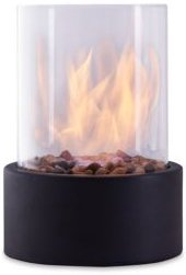 Dayna B Portable Tabletop Small Fire Pit