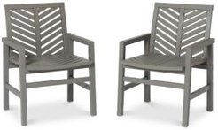 Harbor Outdoor Patio Chairs, Set of 2