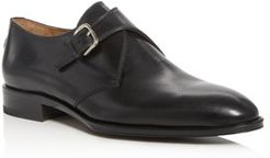 Caligula Leather Monk-Strap Loafers