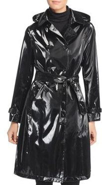 High Gloss Trench Coat