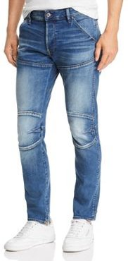 5620 3-d Slim Fit Jeans in Vintage Azure