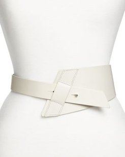 Tapered Leather Belt