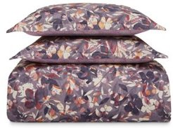 Shadow Floral Twill Duvet Cover Set, Full/Queen - 100% Exclusive