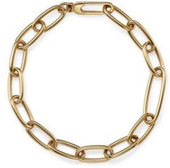 14K Yellow Gold Oval Link Chain Bracelet - 100% Exclusive
