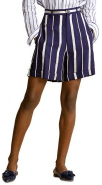 Polo Ralph Lauren Striped Cuff Shorts