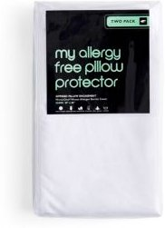 My Allergy Free Standard Pillow Protector, Pack of Two - 100% Exclusive
