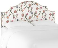 Cameron Full Nail Button Notched Headboard