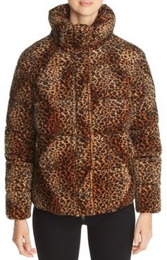 Huff and Puff Faux Fur Puffer Coat - 100% Exclusive