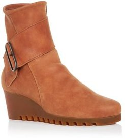 Larune Wedge Ankle Boots