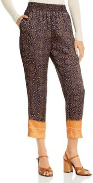 Andrea Printed Cropped Pants