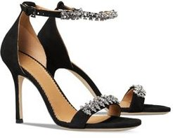 Penelope Bejeweled High Heel Sandals