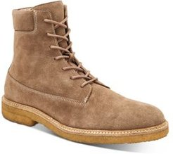 Marco Suede Lace-Up Boots