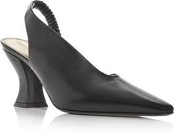 d'Orsay Pointed Toe Slingback Pumps