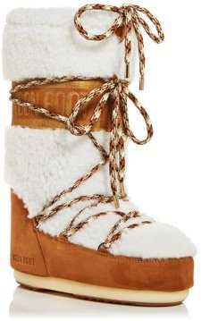 Tall Shearling Cold Weather Boots