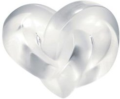Heart Paperweight Clear
