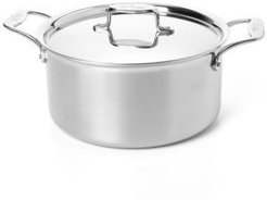 d5 Stainless Brushed 8-Quart Stock Pot with Lid