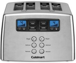 Touch to Toast Leverless 4-Slice Toaster