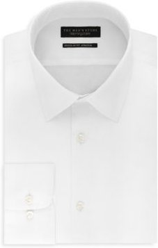 Solid Stretch Regular Fit Dress Shirt - 100% Exclusive