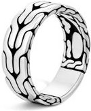 Sterling Silver Classic Chain Band Ring