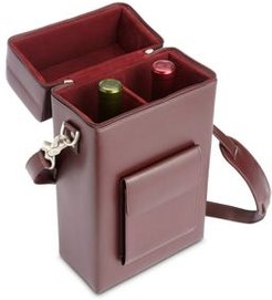 Leather Double Wine Carrying Case