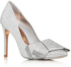 Iinesm Glitter Pointed-Toe Pumps