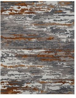 Abstract Abs-3 Area Rug, 5' x 8'