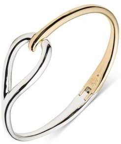 Lauren Ralph Lauren Two-Tone Loop Bangle Bracelet
