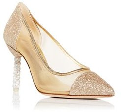 Jasmine Crystal Pointed Toe Pumps