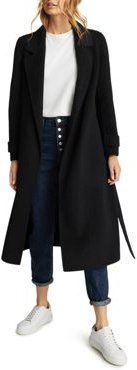 Leah Long Length Belted Coat