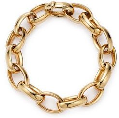 14K Yellow Gold Large Link Chain Bracelet - 100% Exclusive