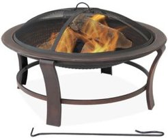Steel Elevated Fire Pit Bowl