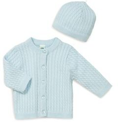 Boys' Cable-Knit Cardigan & Hat Set - Baby