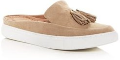 Rory Suede Apron Toe Sneaker Mules