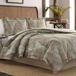 Raffia Palms Duvet Cover, King