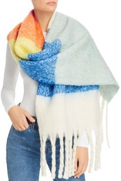 Woven Brushed Scarf - 100% Exclusive