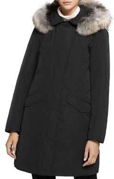 Modern Vail Fur Trim Down Coat