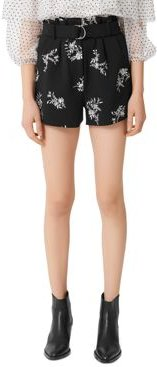 Ima Floral Embroidered Shorts