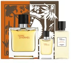 Terre d'Hermes Pure Perfume 3 Piece Gift Set