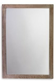 Austere Simple Rectangle Mirror
