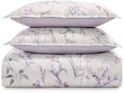 Ikat Floral Duvet Cover Set, Twin - 100% Exclusive