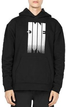 Pixel Graphic Logo Hooded Sweatshirt