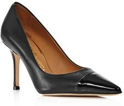 Penelope 65 Cap-Toe Pumps