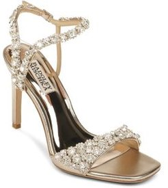 Galia Strappy Embellished Sandals