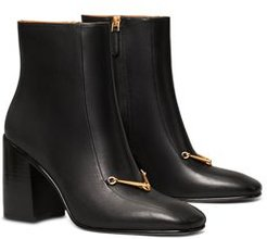 Equestrian Link Ankle Booties