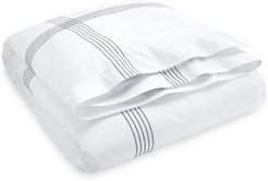 Organic Handkerchief Duvet Cover, Full/Queen