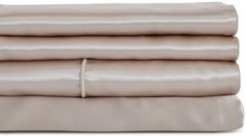 Charmeuse Fitted Sheet, Twin