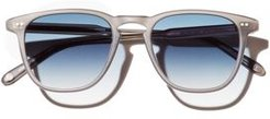 Brooks Mirrored Square Sunglasses, 47mm - 100% Exclusive